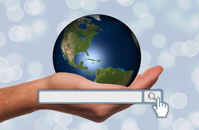 země a vyhledávání