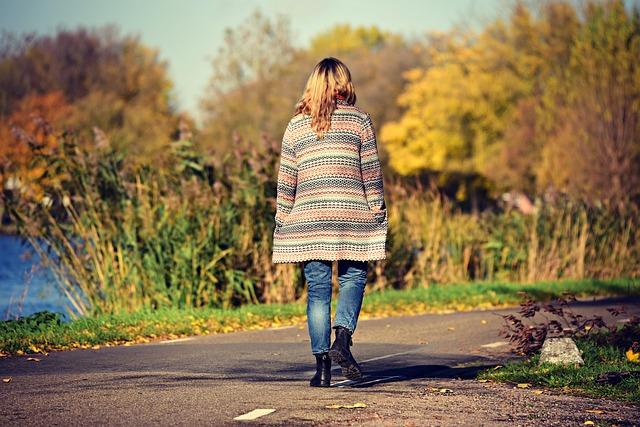chůze po cestě