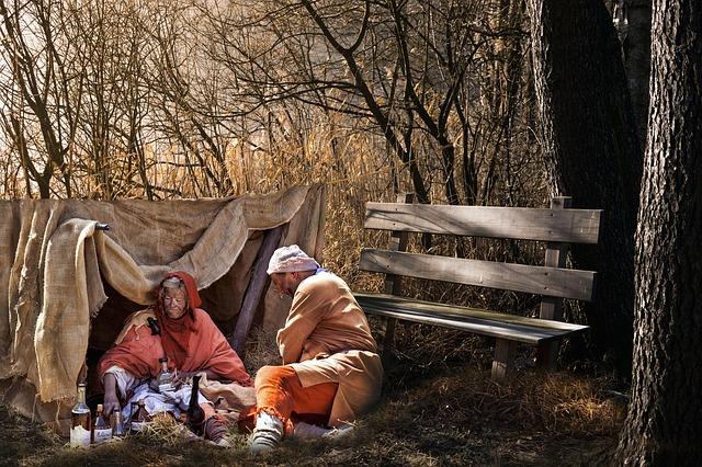 dva bezdomovci