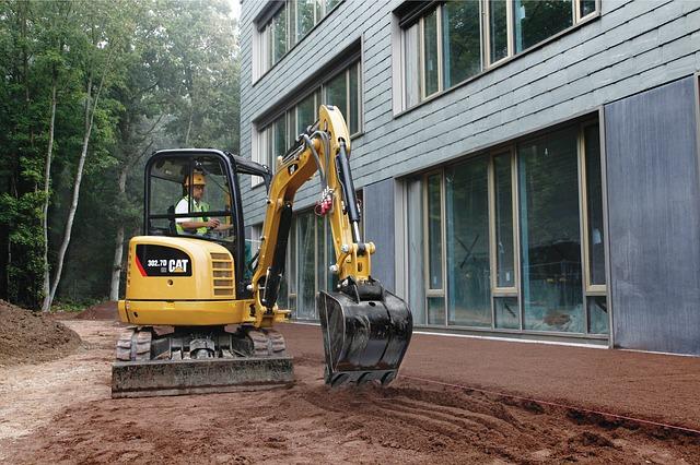 zemní práce na stavbách